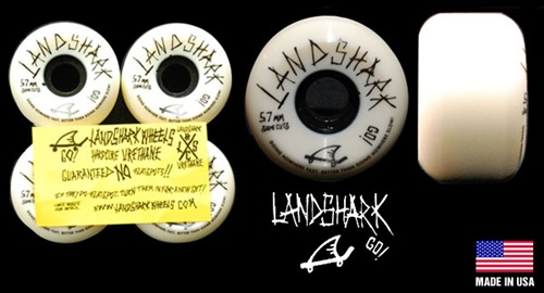 Landshark wheels 57mm 101a