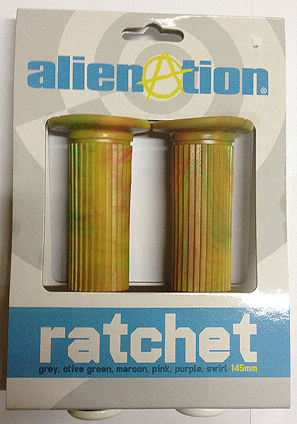 alien ratchet grip rasta