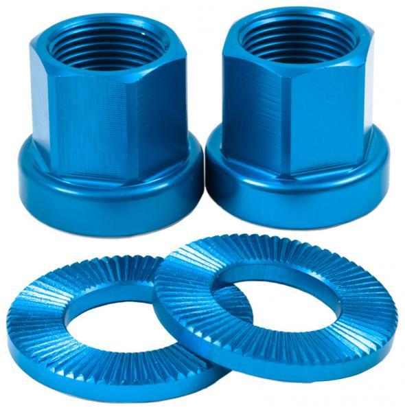 Shadow Alloy Nuts 14mm kék