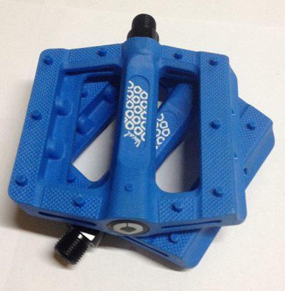 Vocal nylon pedal blue