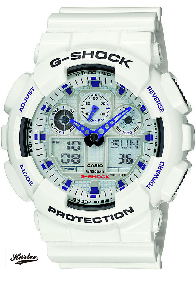 G-SHOCK GA-100A-7A 1