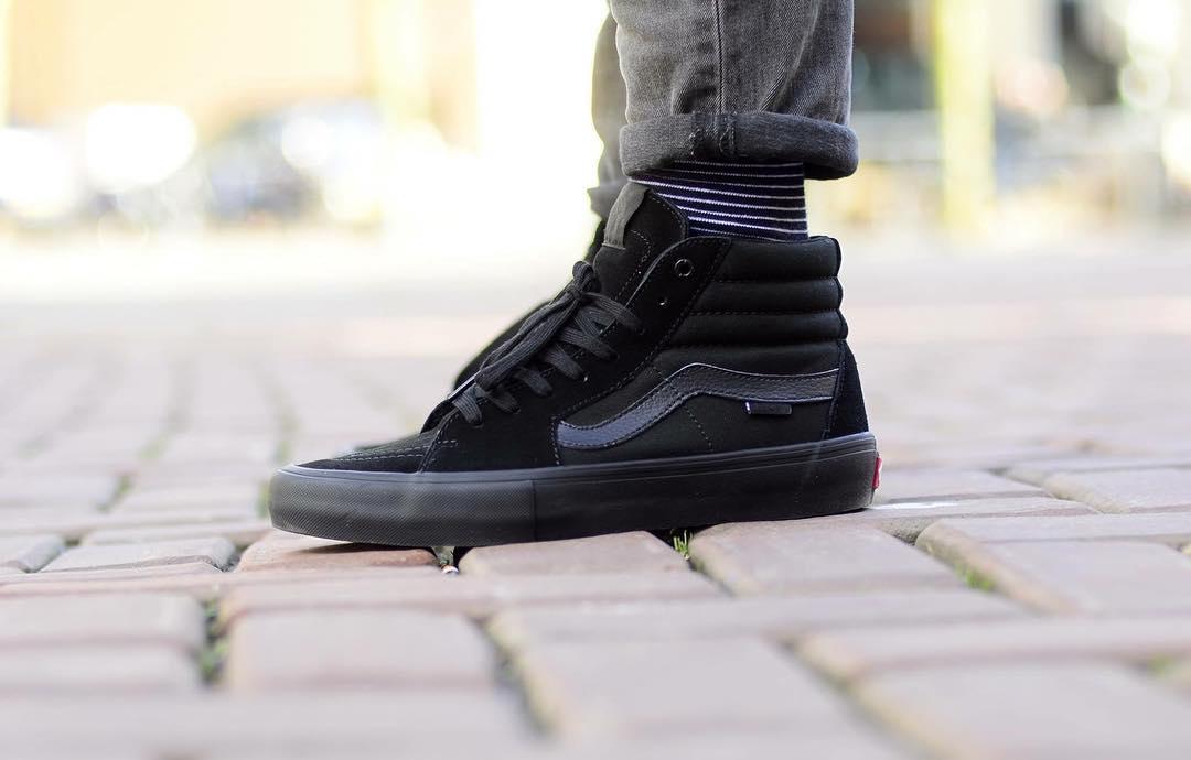 Furgonetas Sk8 Zapatos De Alta Apagón Pro ykdbfz