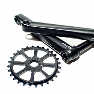 Mutiny Cinch Crankset Black