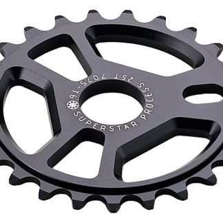 Superstar Process Sprocket 25T Black