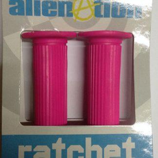 Alienation ratchet grip pink