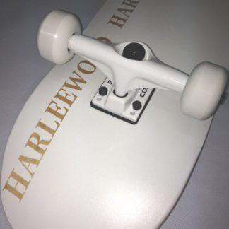 HarleeWood komplett deszka whiteline 1