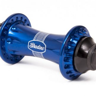 shadow raptor front hub perma blue