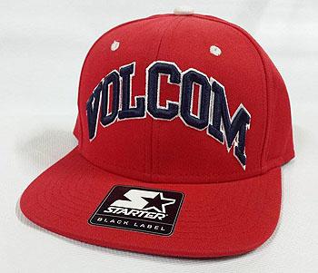 voltcom starter snapback cap